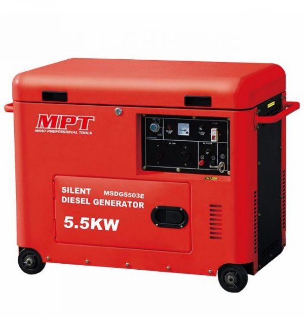 Silent Diesel Generator 6 KVA - 16 Liters - MPT - Generators in Pakistan