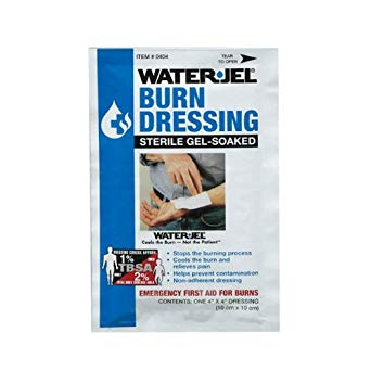 Burn Dressing WaterJel 4x4 USA
