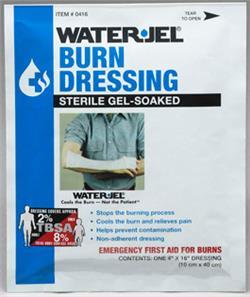 Burn Dressing WaterJel 4x16 USA