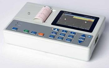 Schiller Cardiovit AT-1 G2 ECG Machine